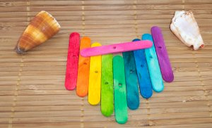 DRILLED Mini Craft Sticks (48pcs)