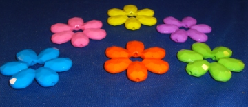 Large Flower Bead (ea)