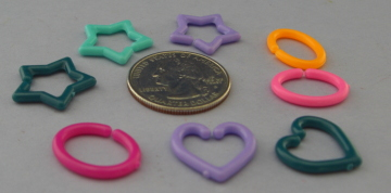 Plastic Mini Links OPAQUE