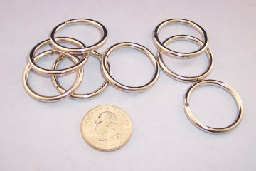Nickel Plated O-Ring, 1