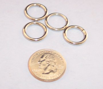 Nickel Plated O-Ring, 1/2