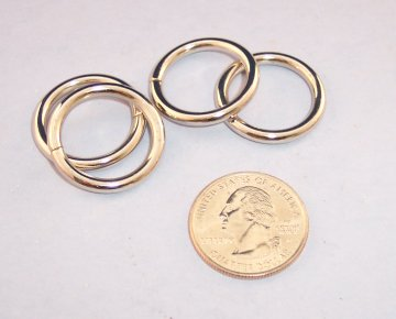 Nickel Plated O-Ring, 3/4