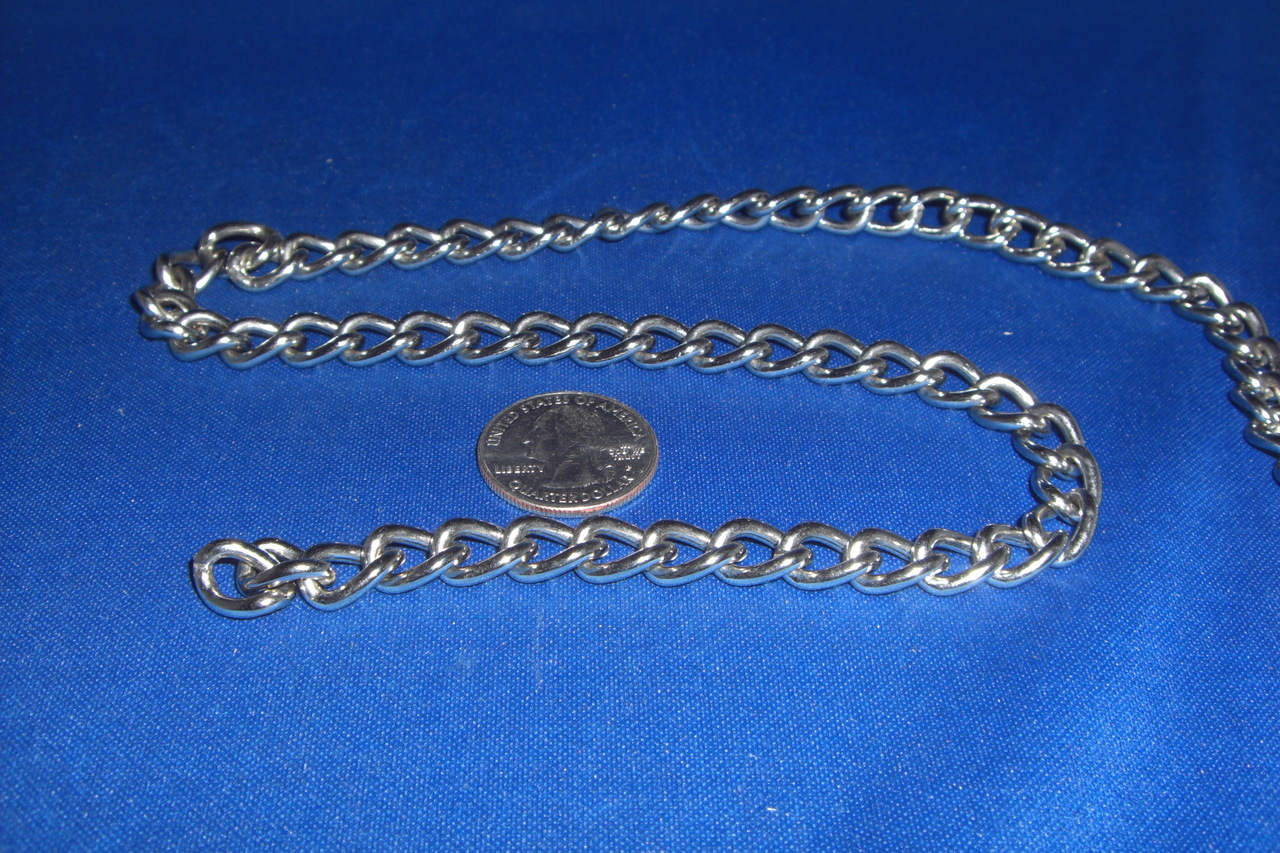 2.5mm Nickel Plated Chain (ft)