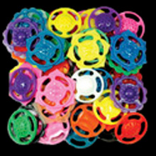 Plastic Flower Spinners