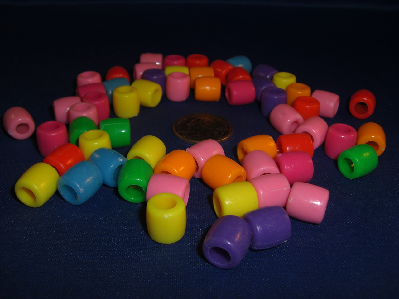 12mm Opaque Pony Beads