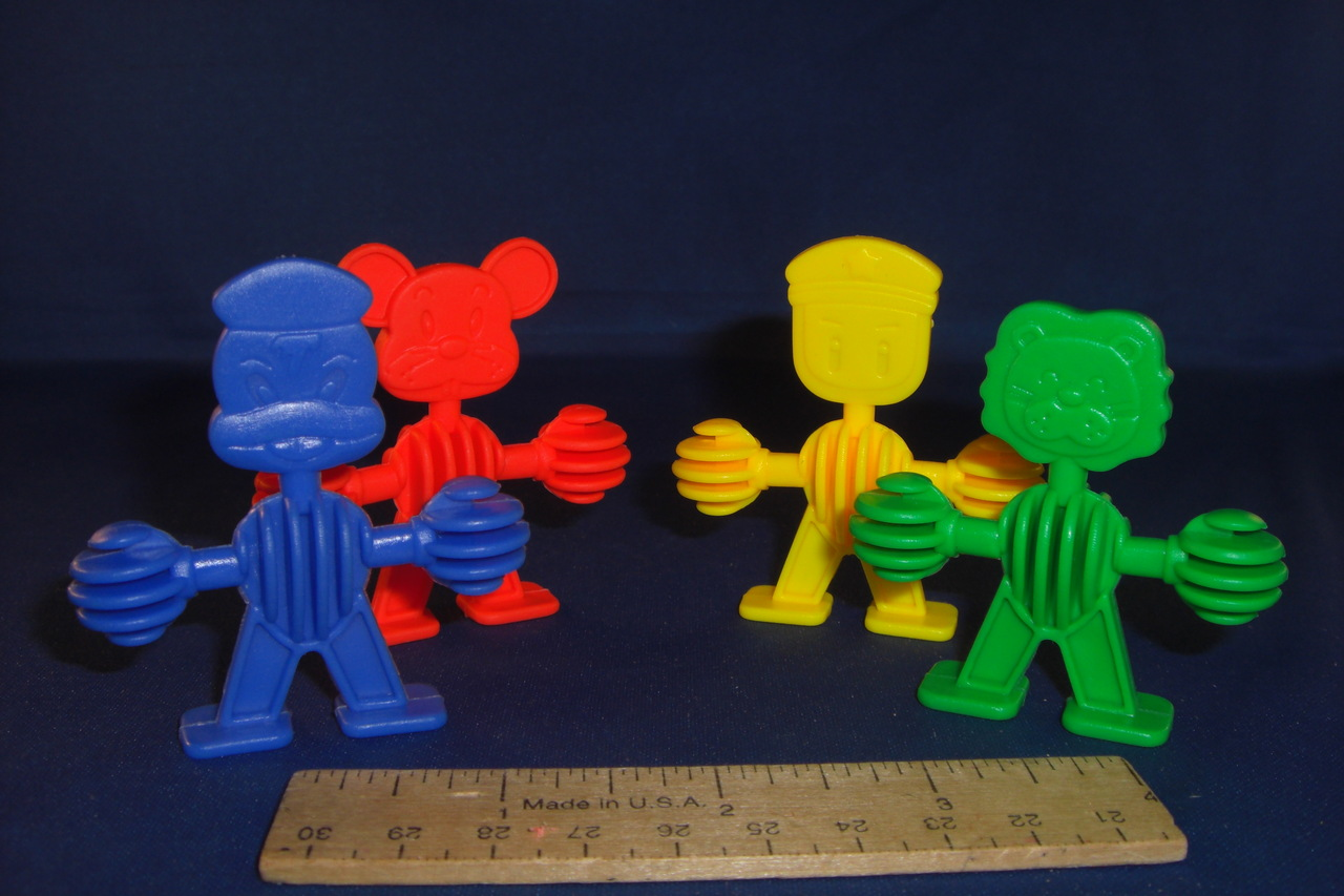 Undrilled Plastic Animal Buddies (ea)