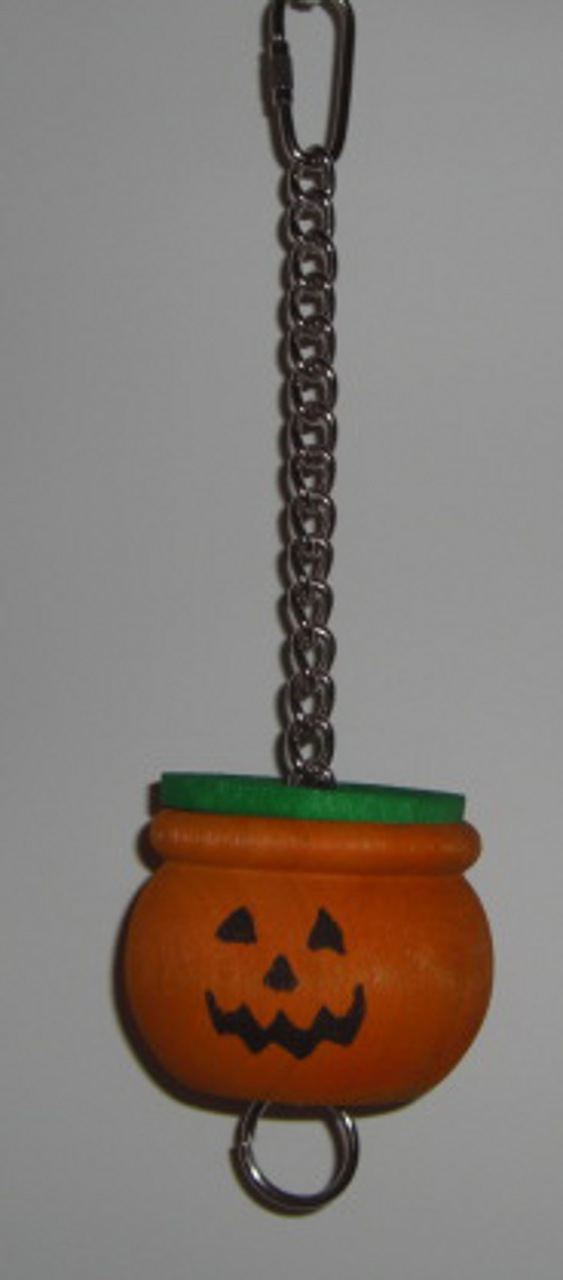 Jack O ' Lantern Pot Foraging Toy, Large