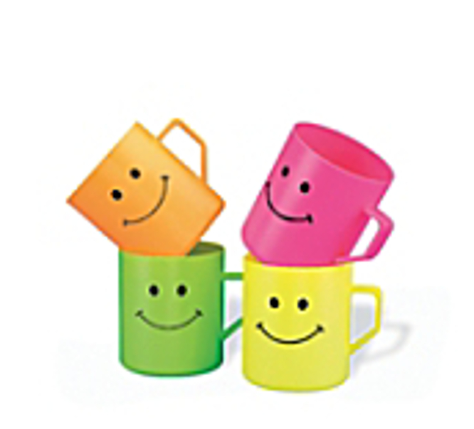 Jumbo Smiley Mugs