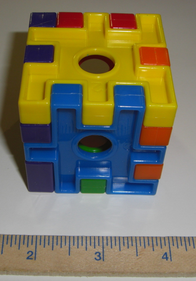 Plastic Cube Toy Base