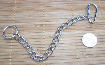2.5mm Nickel Plated Chain Base