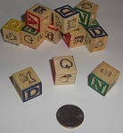 2nd Quality 20mm Alphabet Blocks