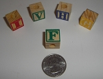 20mm Alphabet Blocks (18 pcs)