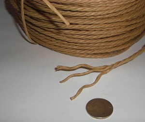 "3/16"" Tri-Paper Rope (by the foot)"