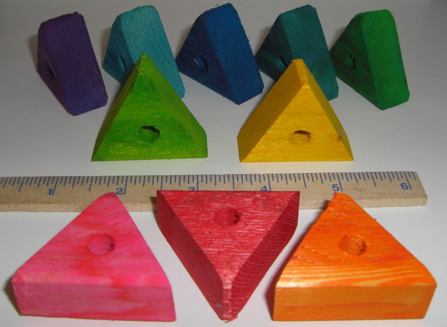 2nd Quality Small Pine Triangle