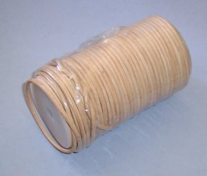 "Round Leather Lace Spool, 1/8"" x 164'"