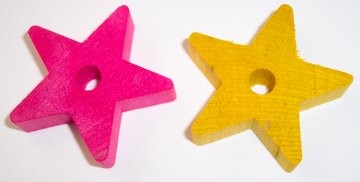 "2"" Wood Star (thick)"
