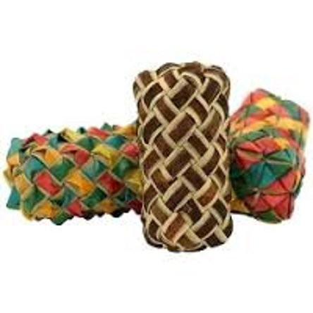 Cylinder Woven Foot Toy 3 Pack